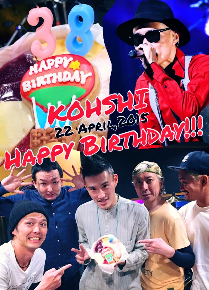 FLOW_KOHSHI Birthday1